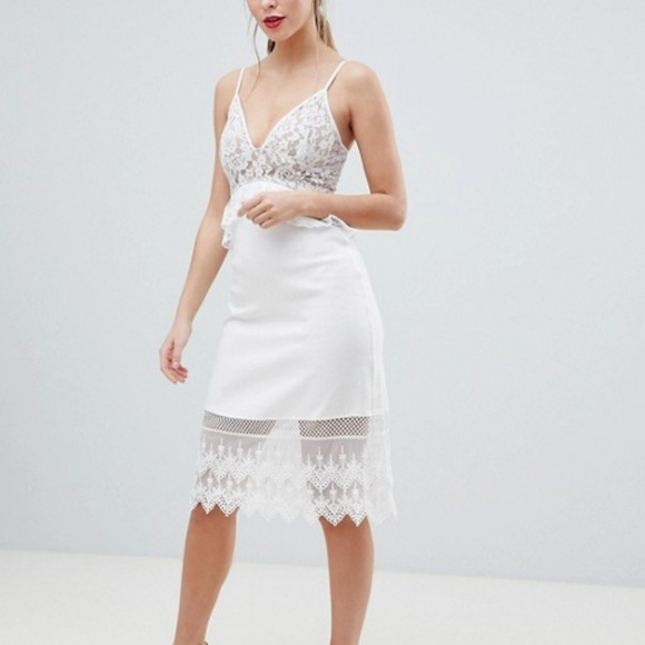 ab8987e6562 NWT French Connection Delos Lucky Layer Lace dress